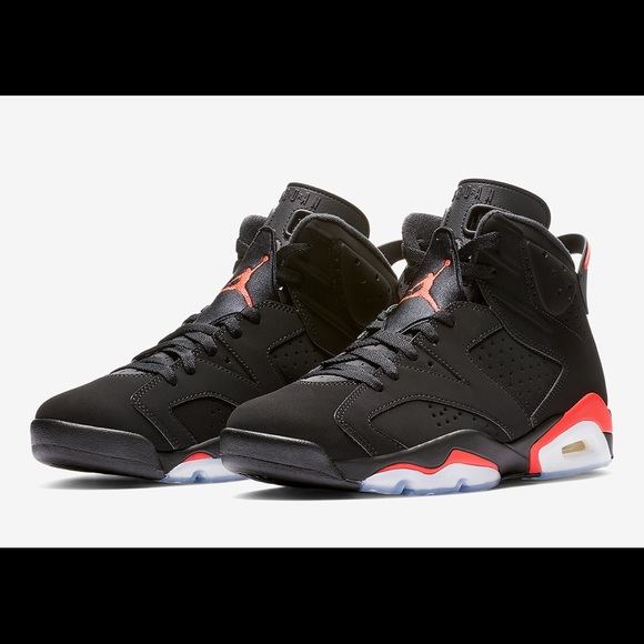 promo code 02eec 2bcdc Authentic Jordan Vi infrared. NIB, Sz 10
